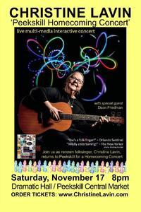 Christine Lavin Peekskill Homecoming Concert