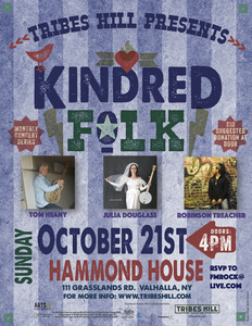 Tribes Hill Presents Kindred Folk - ONLY A FEW SEATS LEFT - RESERVE YOURS NOW