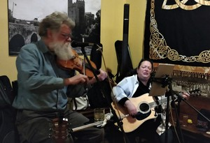 Irish Happy Hour With Uncle Bill Whiskey and Guest Susan Lang