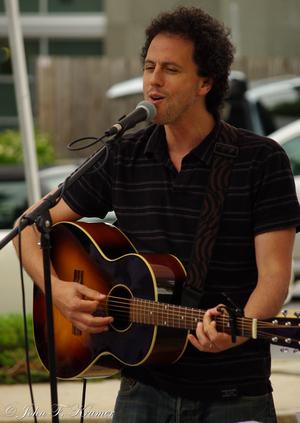 Matt Turk in solo in store performance