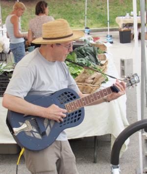 Phil Dollard at the Ossining Farmers039 Market