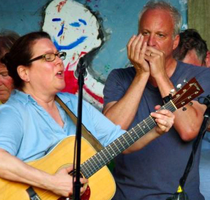 Larry Kolker amp Judy Kass with Sticks Levine