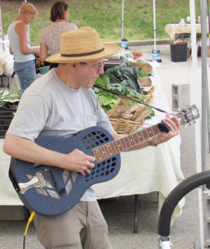 Phil Dollard at the Croton Farmers039 Market