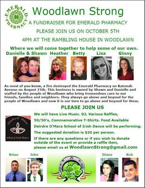 Woodlawn Strong  A Fundraiser for Emerald Pharmacy