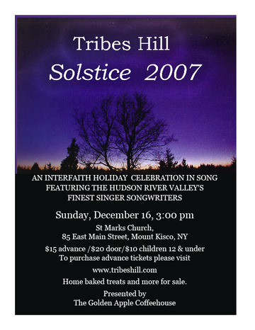 cover of Solstice Concert 2007