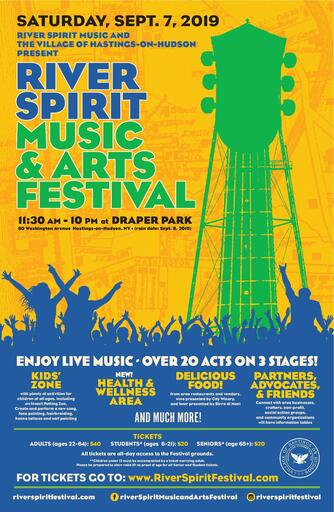 The River Spirit Music amp Arts Festival  Saturday September 7