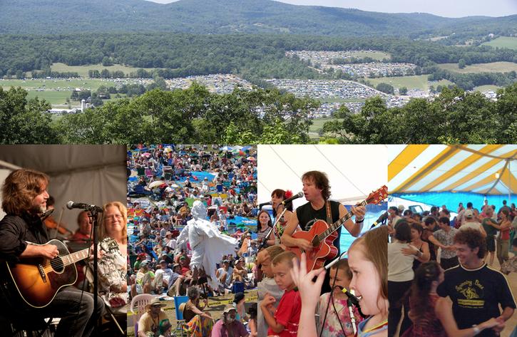 Falcon Ridge Folk Festival  Thursday August 1  Sunday August 4