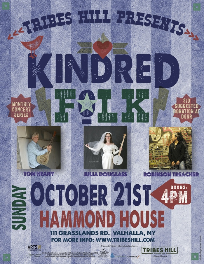 Tribes Hill Presents Kindred Folk at Hammond House  Sunday October 21st nbspLIMITED SEATING FOR THIS INDOOR EVENT