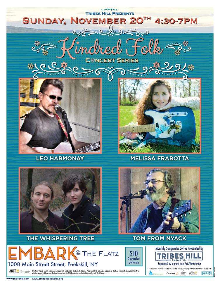 Tribes Hill Presents Kindred Folk at Embark Peekskill Sunday November 20th