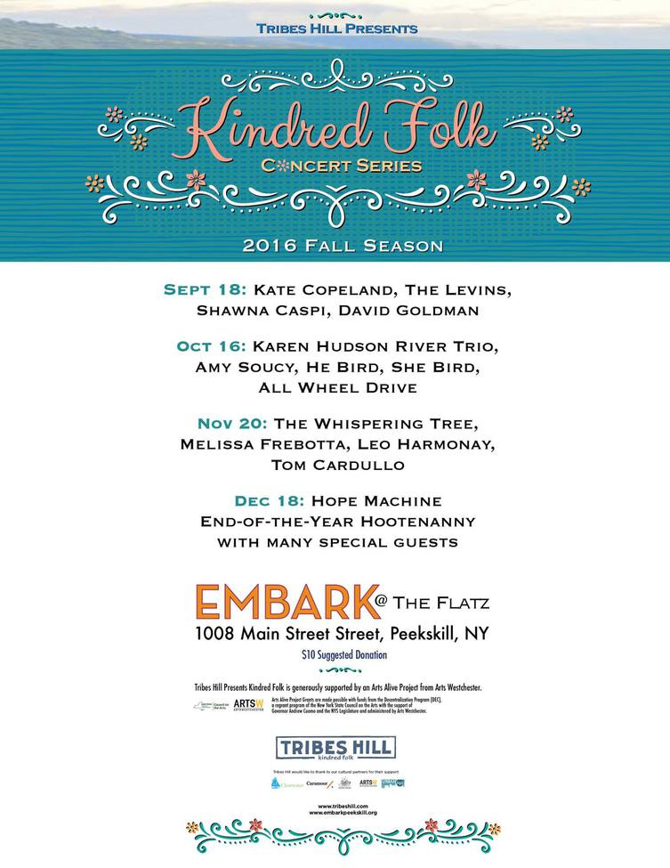 Kindred Folk Concert Series