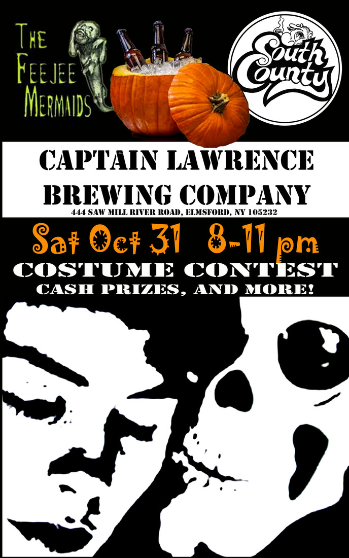 TRICK OR TREAT WITH SOUTH COUNTY AND YOUR TRIBES HILL FRIENDS AT CAPTAIN LAWRENCE BREWING COMPANY