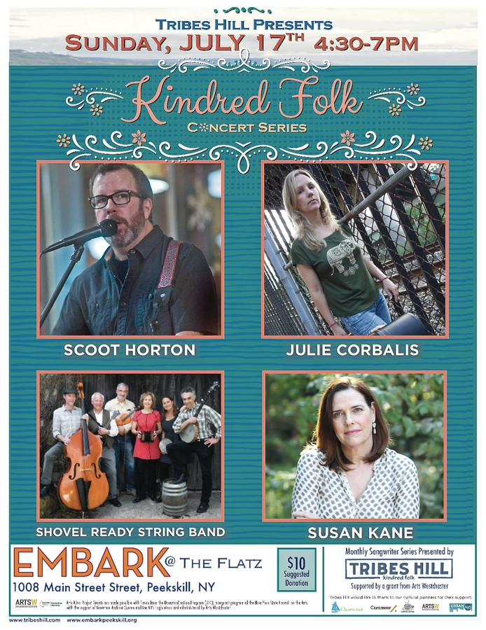Tribes Hill Presents Kindred Folk at Embark  Sunday July 17th