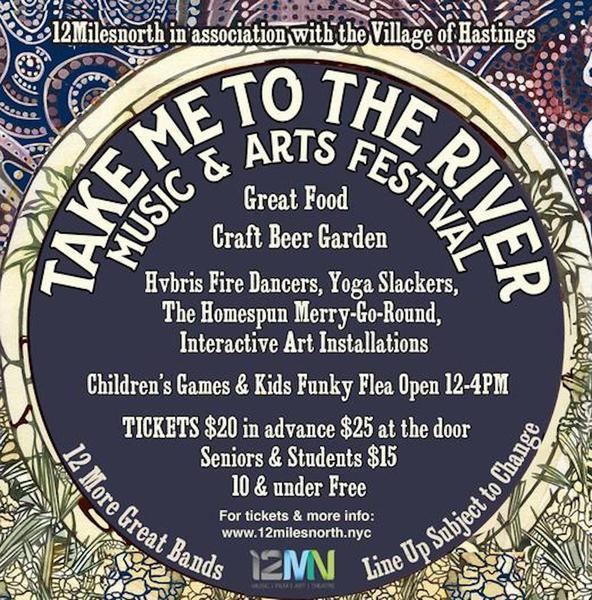 Take Me to the River Music amp Arts Festival  September 10